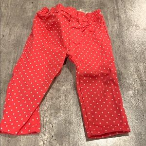 Carters size 12 month pattern jeans